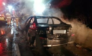 성탄절 전야 고속도로 이번에도 BMW 520d 차량 화재