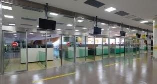 김포공항 국제선 터미널 입국심사장 대기면적 확장