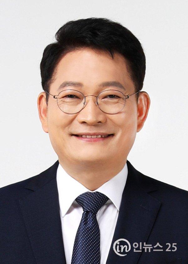 """송영길의원, """"윤석열 용퇴하는 게 국민과 대통령에 대한 예의"""""""