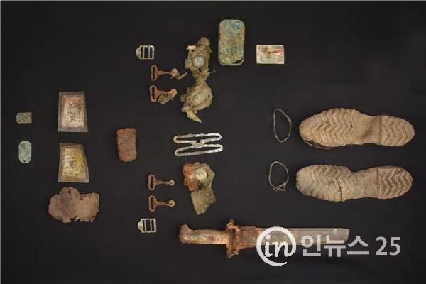 비무장지대 내 한국전쟁 전사자 유해발굴 유품 보존처리 시작